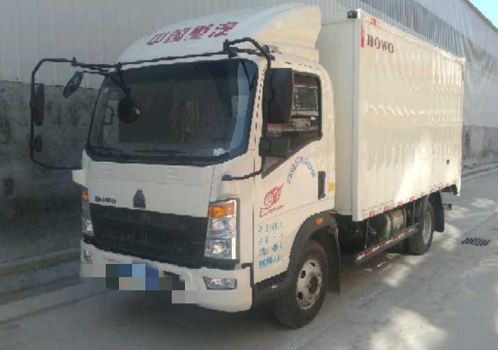 中國重汽HOWO 載貨車  120匹 2020年01月 4x2