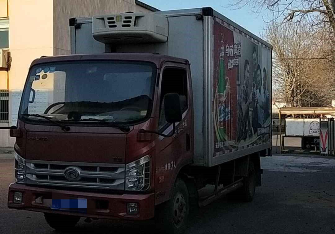 北汽福田其他车系 载货车  120匹 2015年10月 4x2