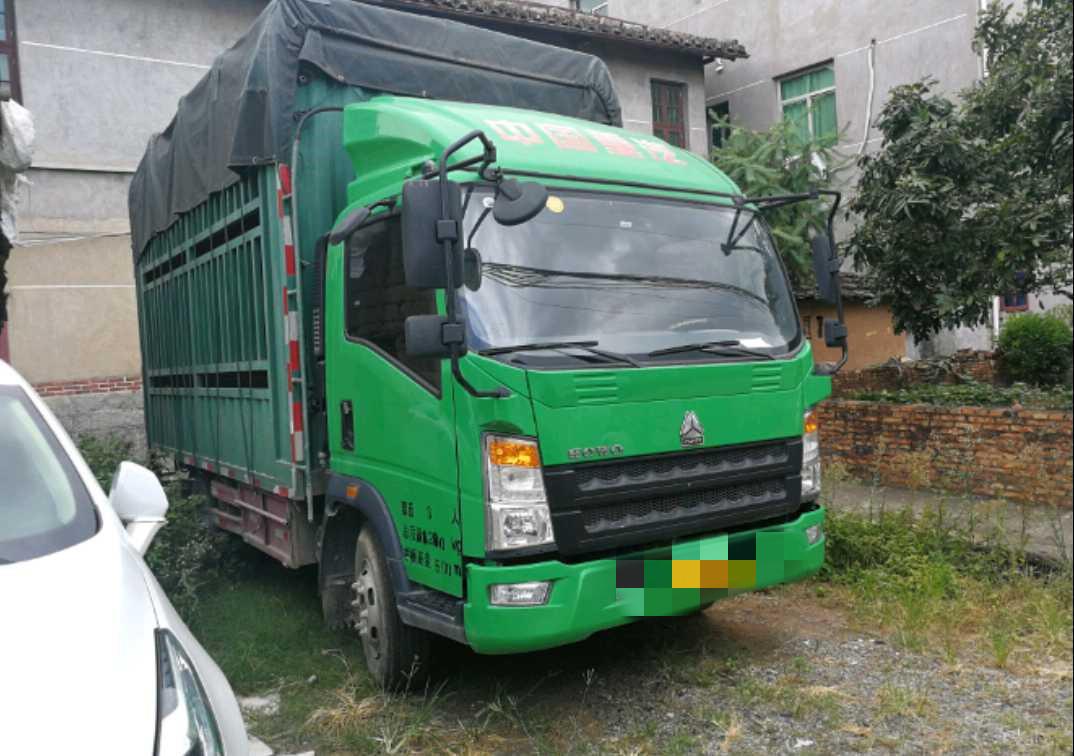 中國重汽HOWO 載貨車  96匹 2017年05月 4x2
