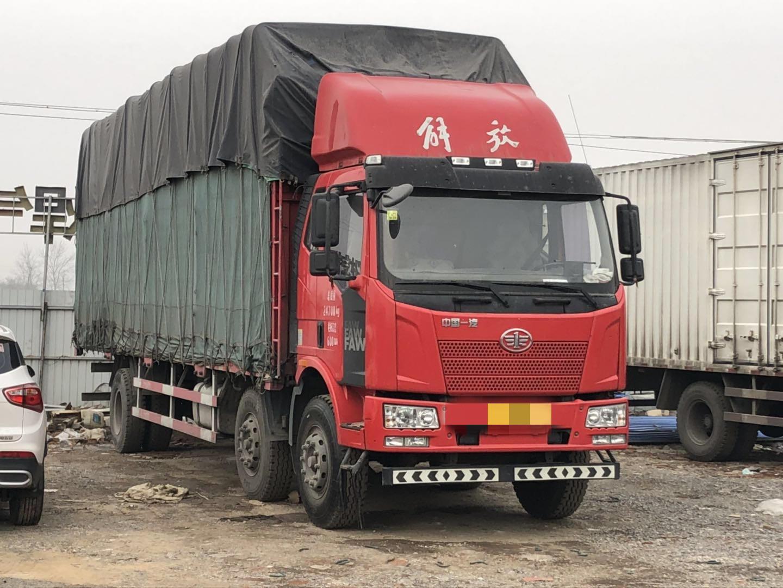 一汽解放J6L中卡 質惠版 載貨車  220匹 2016年09月 6x2