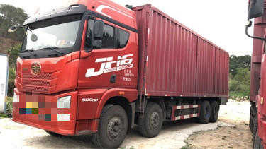 青島解放JH6 自卸車  500匹 2019年06月 8x4