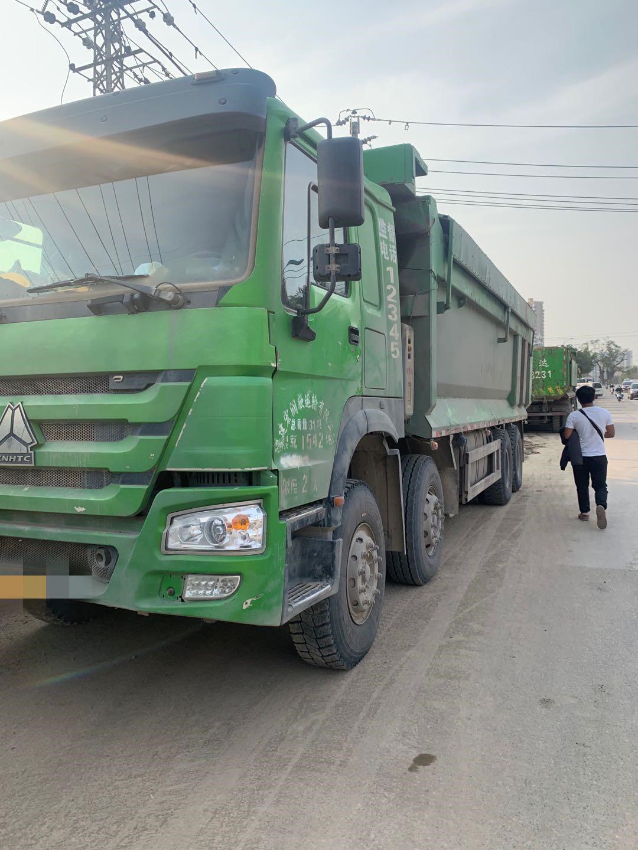 中國重汽其他車系 自卸車  380匹 2017年06月 8x4