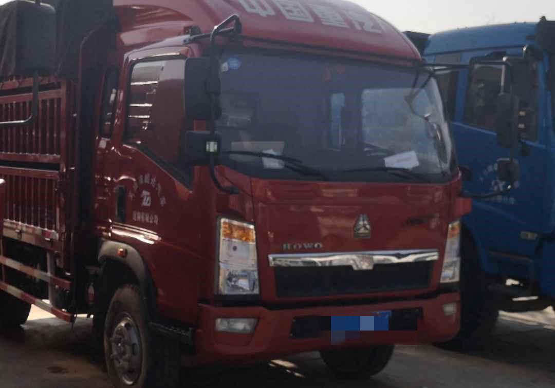 中國重汽HOWO 載貨車  160匹 2017年05月 4x2