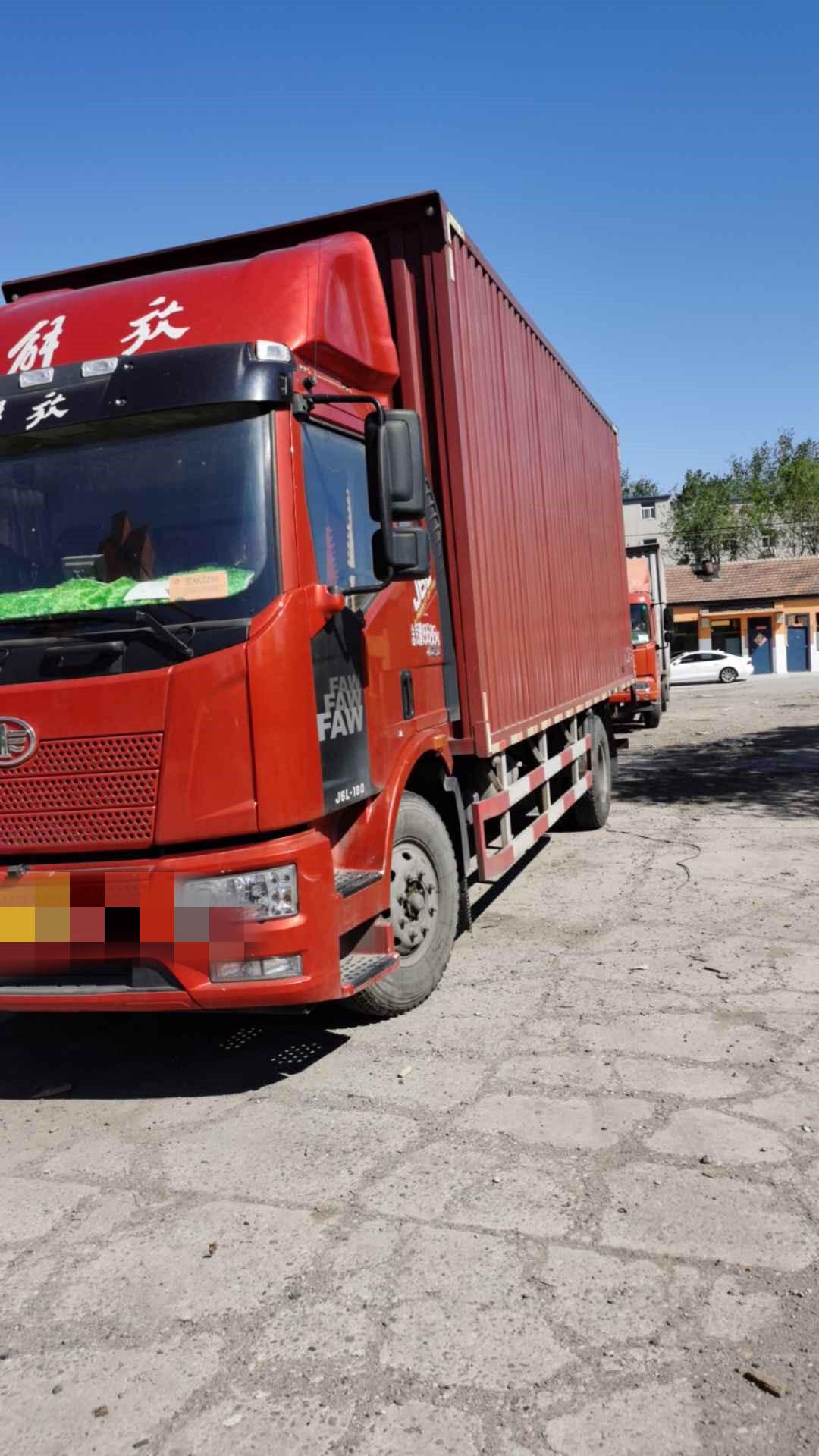 一汽解放J6L中卡 質惠版 載貨車  180匹 2018年06月 6x2