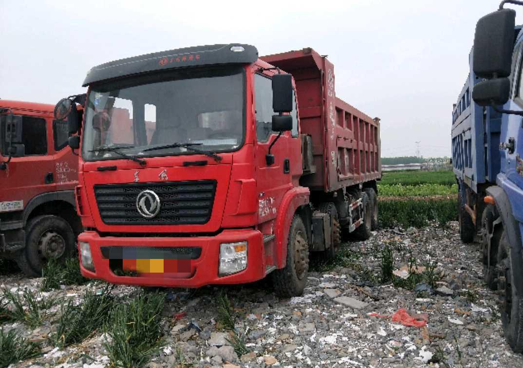 東風創普 自卸車  300匹 2016年08月 8x4
