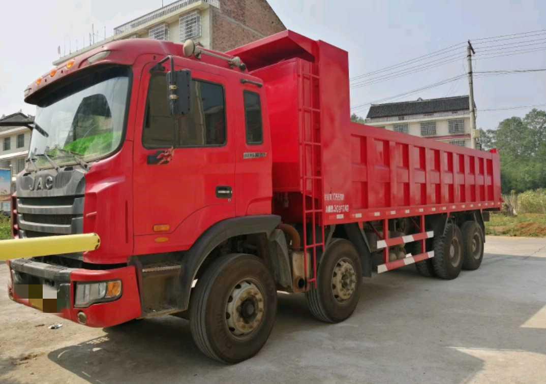 江淮格爾發K3W重卡 輕量化 自卸車  310匹 2014年11月 8x4