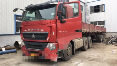 重汽豪沃(HOWO)HOWO T7H重卡 牽引車  540匹 2018年09月 6x4