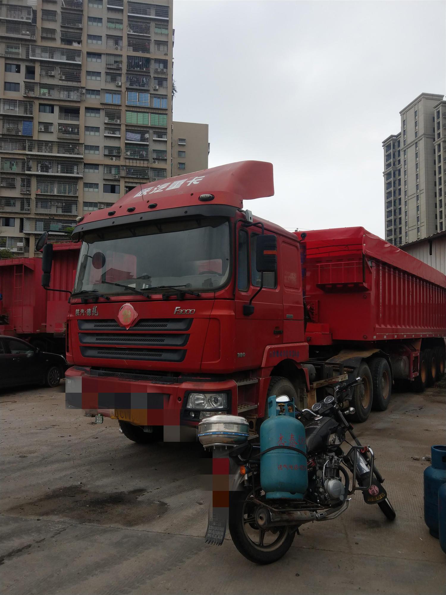 陕汽其他车系 牵引车  380匹 2014年12月 6x4