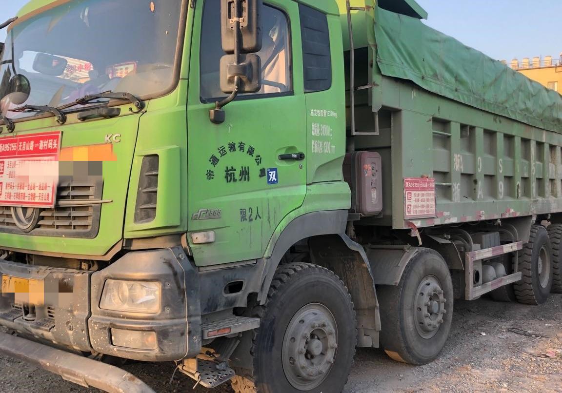 東風天龍 自卸車  385匹 2017年11月 6x2