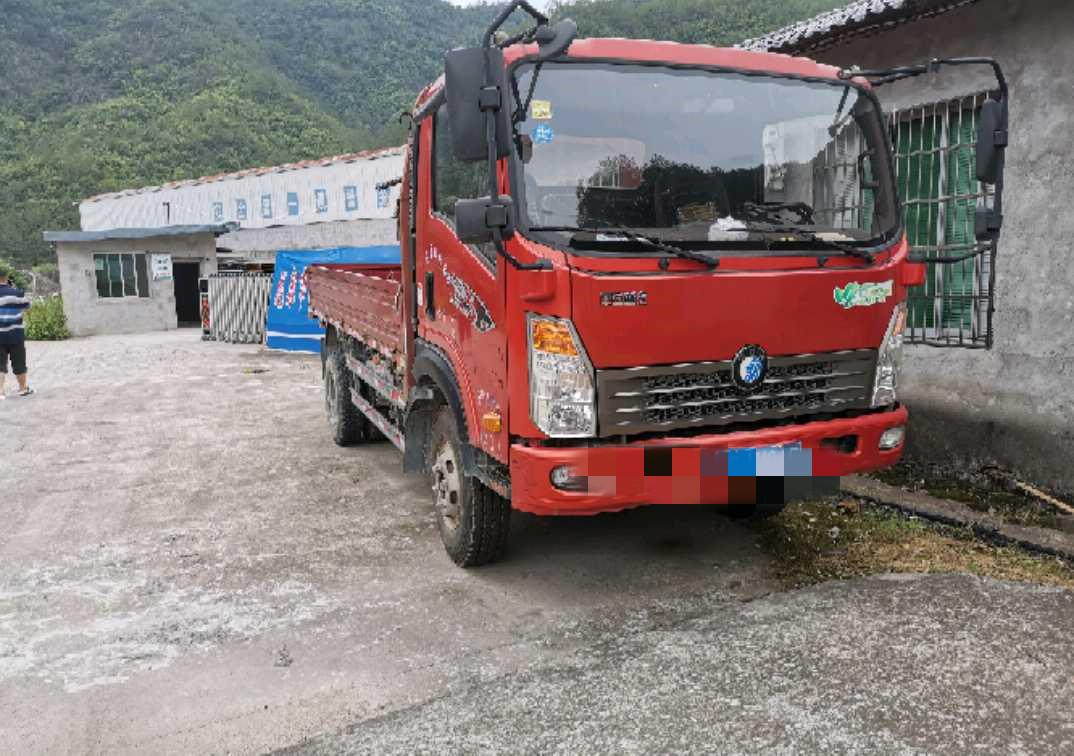 中國重汽王牌 自卸車  115匹 2016年05月 4x2