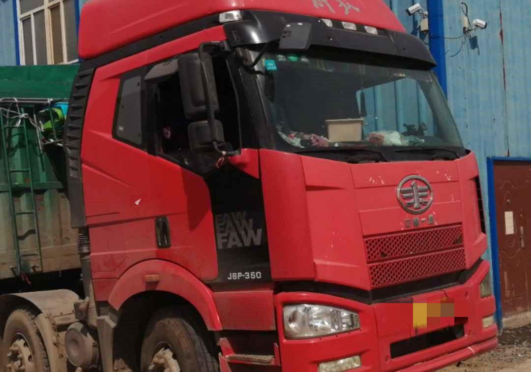 一汽解放J6P重卡 牽引車  350匹 2014年05月 6x2