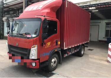 中國重汽HOWO 載貨車  156匹 2020年04月 4x2