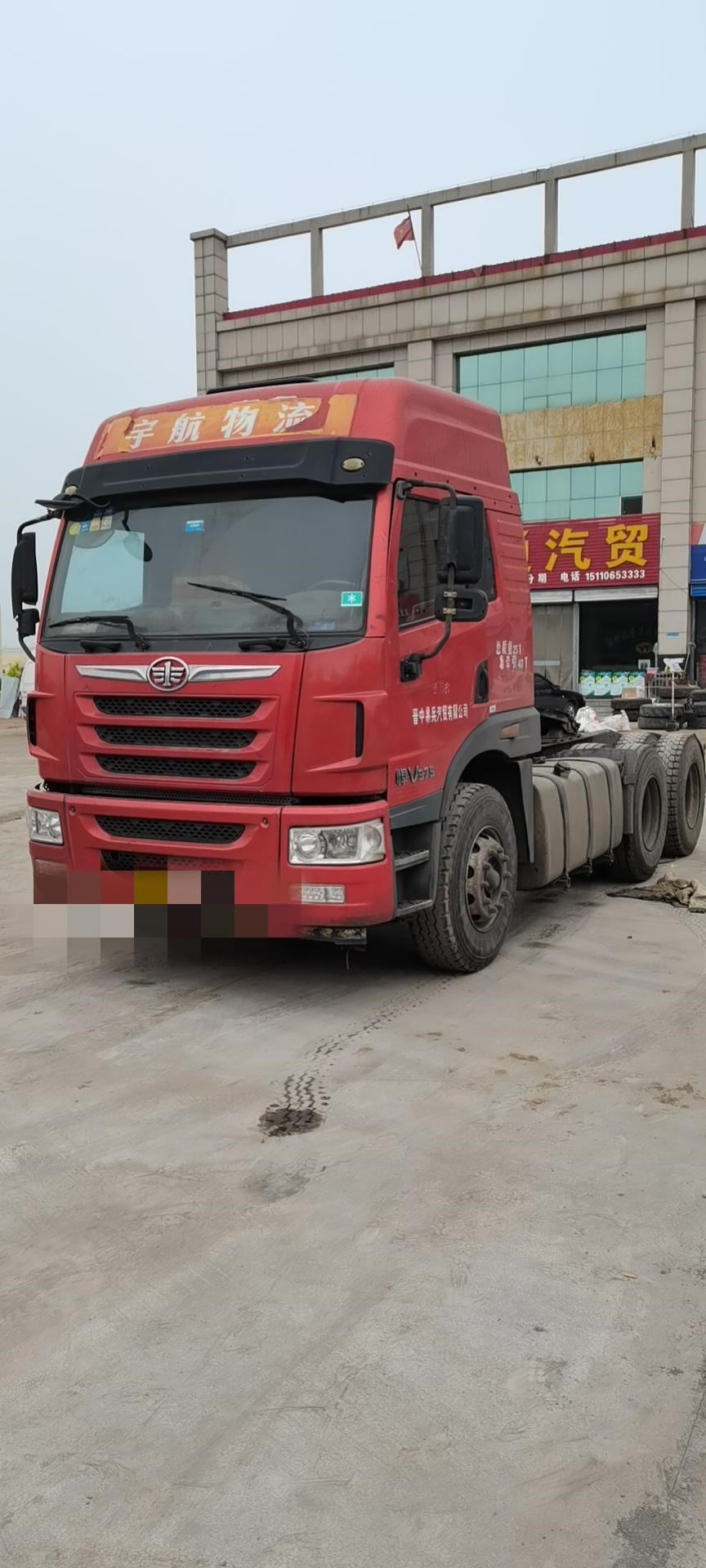 青島解放其他車系 牽引車  375匹 2017年07月 6x2