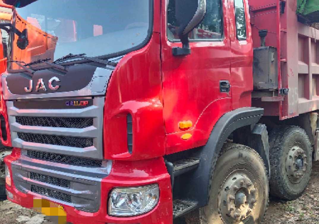 江淮格爾發K3W重卡 輕量化 自卸車  300匹 2016年11月 8x4