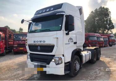 中國重汽HOKA H7重卡 牽引車  540匹 2018年09月 6x4