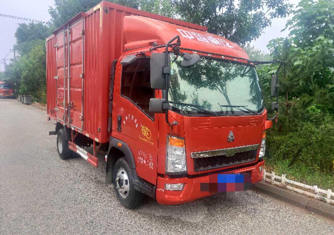 中國重汽HOWO 載貨車  143匹 2018年06月 4x2