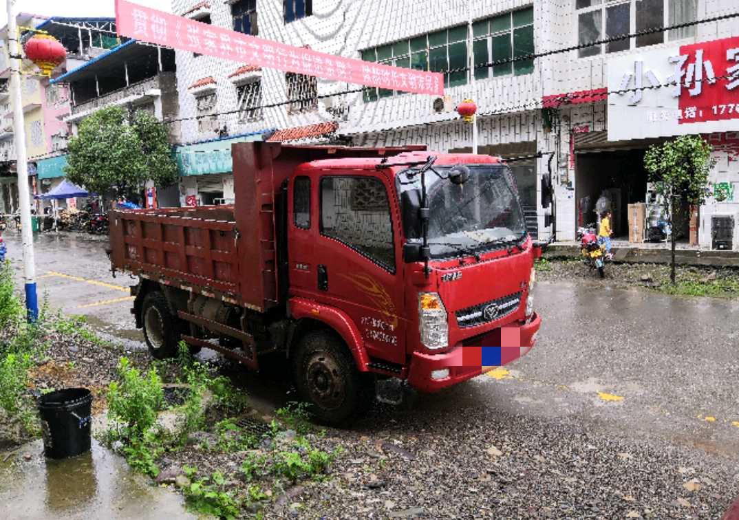 中國重汽豪曼 自卸車  115匹 2016年06月 4x2