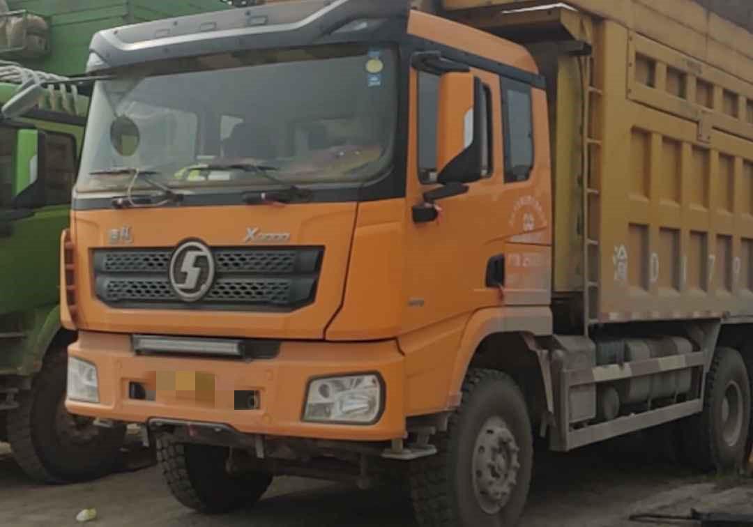 陜汽德龍X3000 自卸車  400匹 2018年06月 6x4
