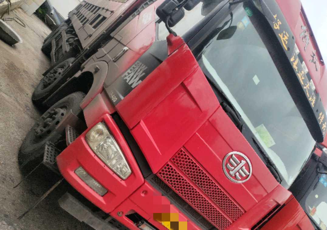 一汽解放J6P重卡 自卸車  420匹 2014年12月 6x6