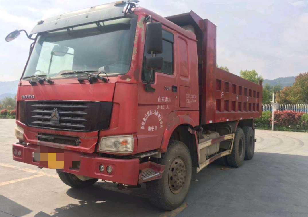 中國重汽HOWO 自卸車  336匹 2011年04月 4x2