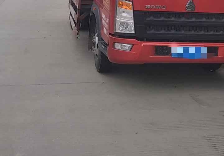 中國重汽悍將 載貨車  120匹 2019年10月 4x2