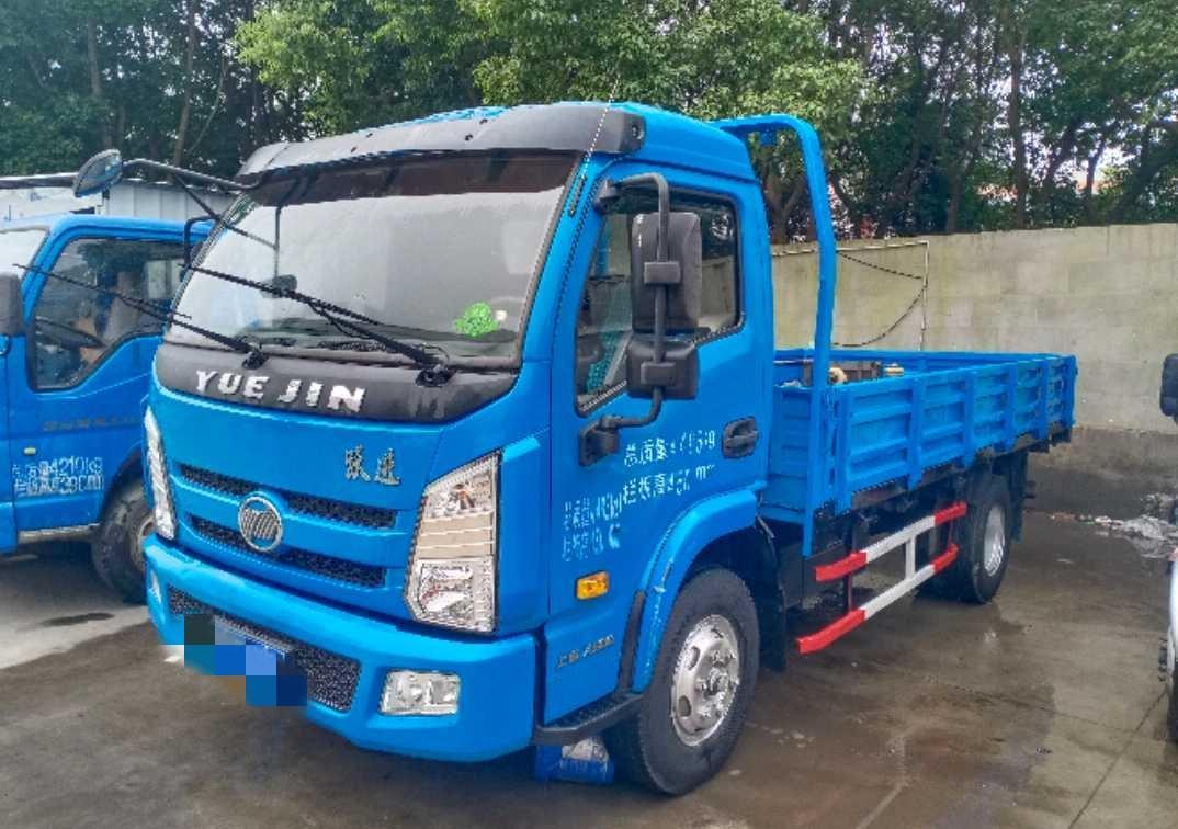 南京依维柯上骏 载货车  140匹 2017年07月 4x2