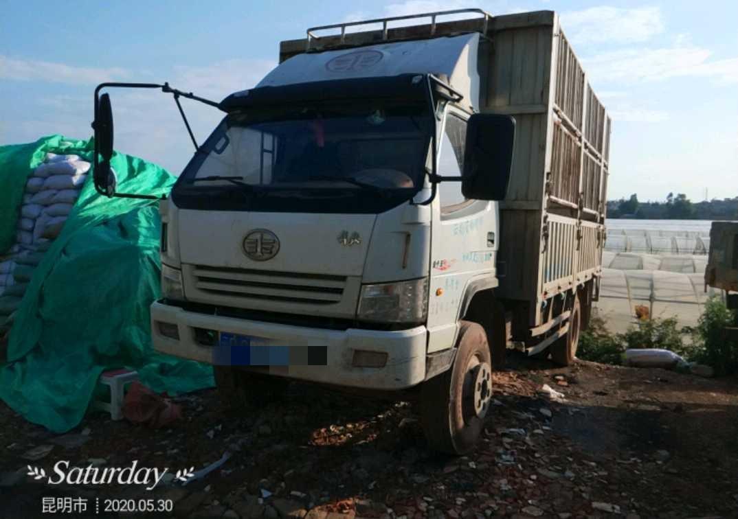 一汽解放J6 载货车  115匹 2014年11月 4x2