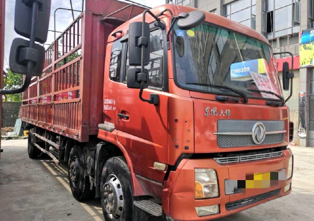 东风天锦 载货车  210匹 2012年09月 6x2
