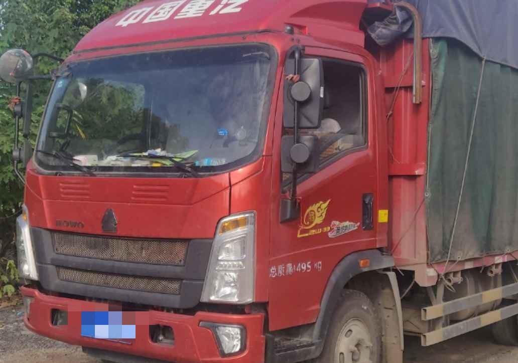 中国重汽HOWO 载货车  156匹 2020年04月 4x2
