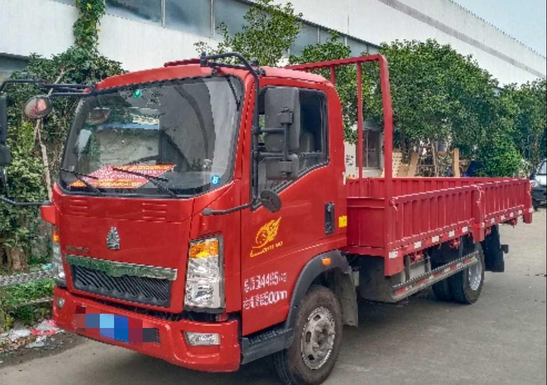 中国重汽悍将 载货车  135匹 2017年11月 4x2