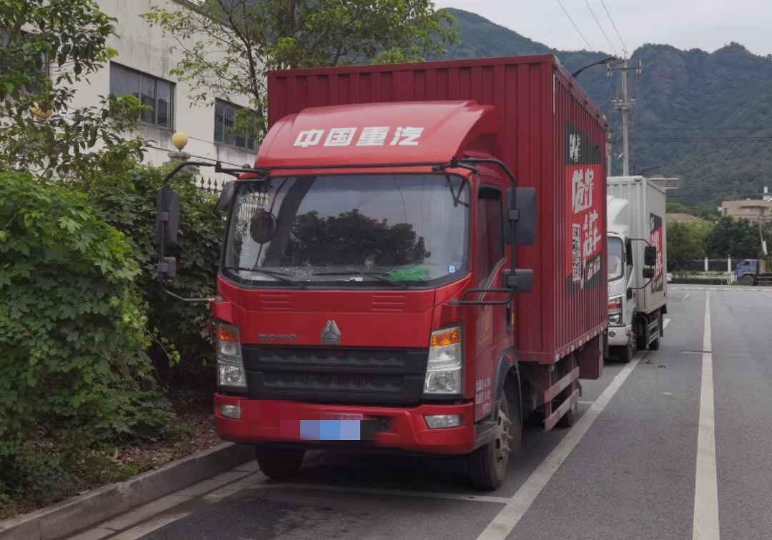 中國重汽悍將 載貨車  116匹 2020年04月 4x2