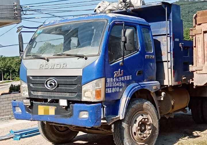 福田瑞沃瑞沃中型 自卸車  160匹 2013年10月 4x2