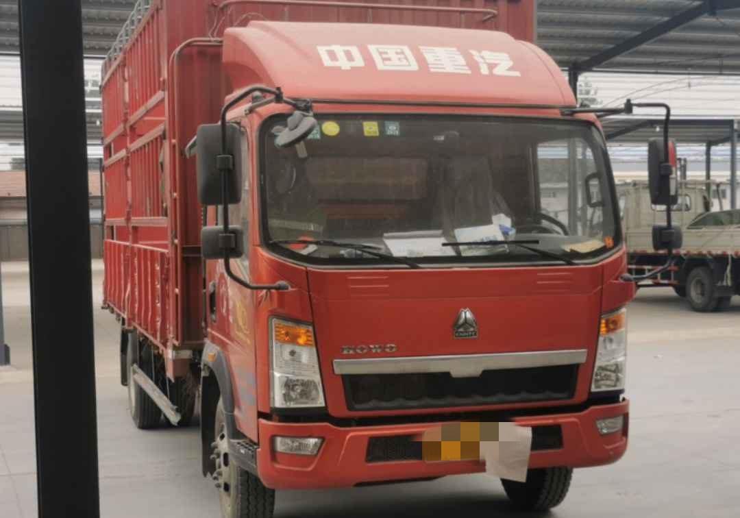中国重汽HOWO 载货车  170匹 2017年10月 4x2