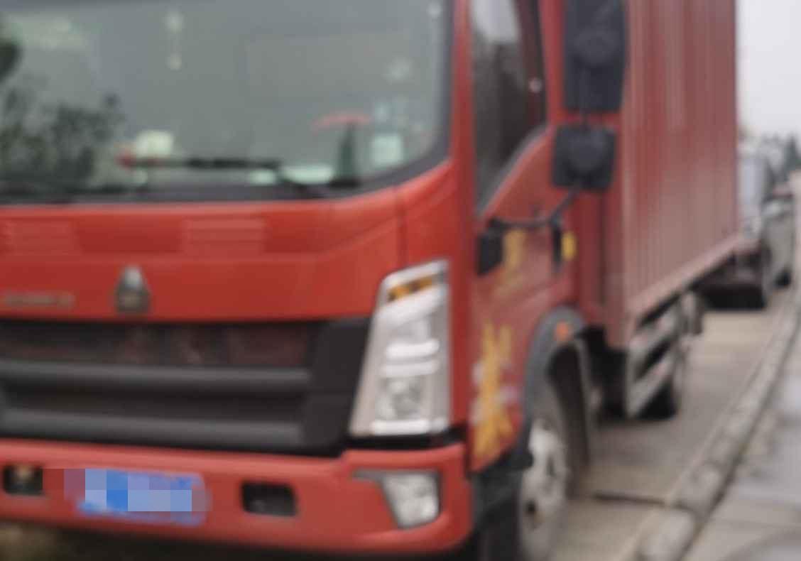 中國重汽悍將 載貨車  156匹 2019年08月 4x2
