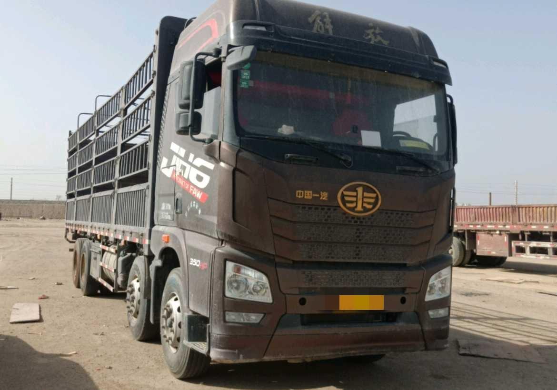 一汽解放J6P重卡 質惠版 載貨車  354匹 2017年06月 8x4
