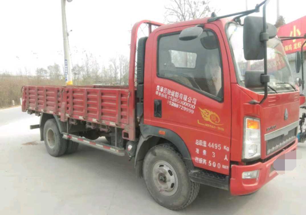 中國重汽HOWO 載貨車  160匹 2017年11月 4x2