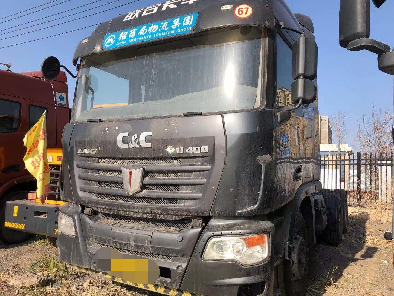 联合卡车U400重卡 牵引车  340匹 2016年12月 6x4