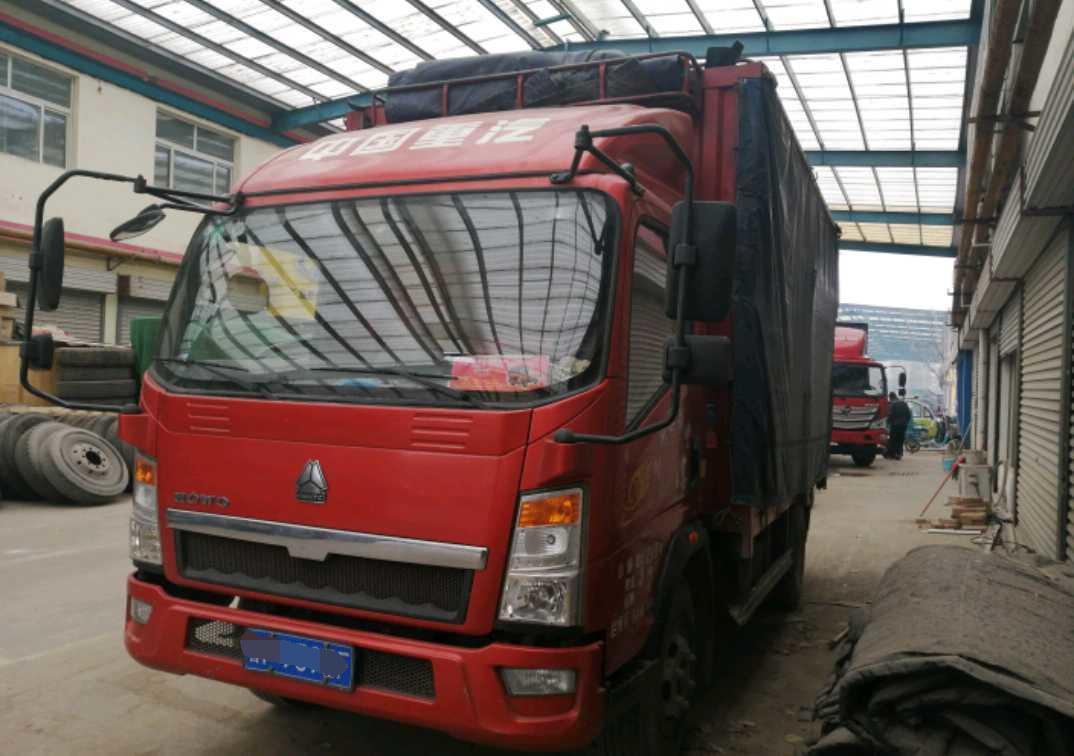 中国重汽悍将 载货车  146匹 2017年05月 4x2