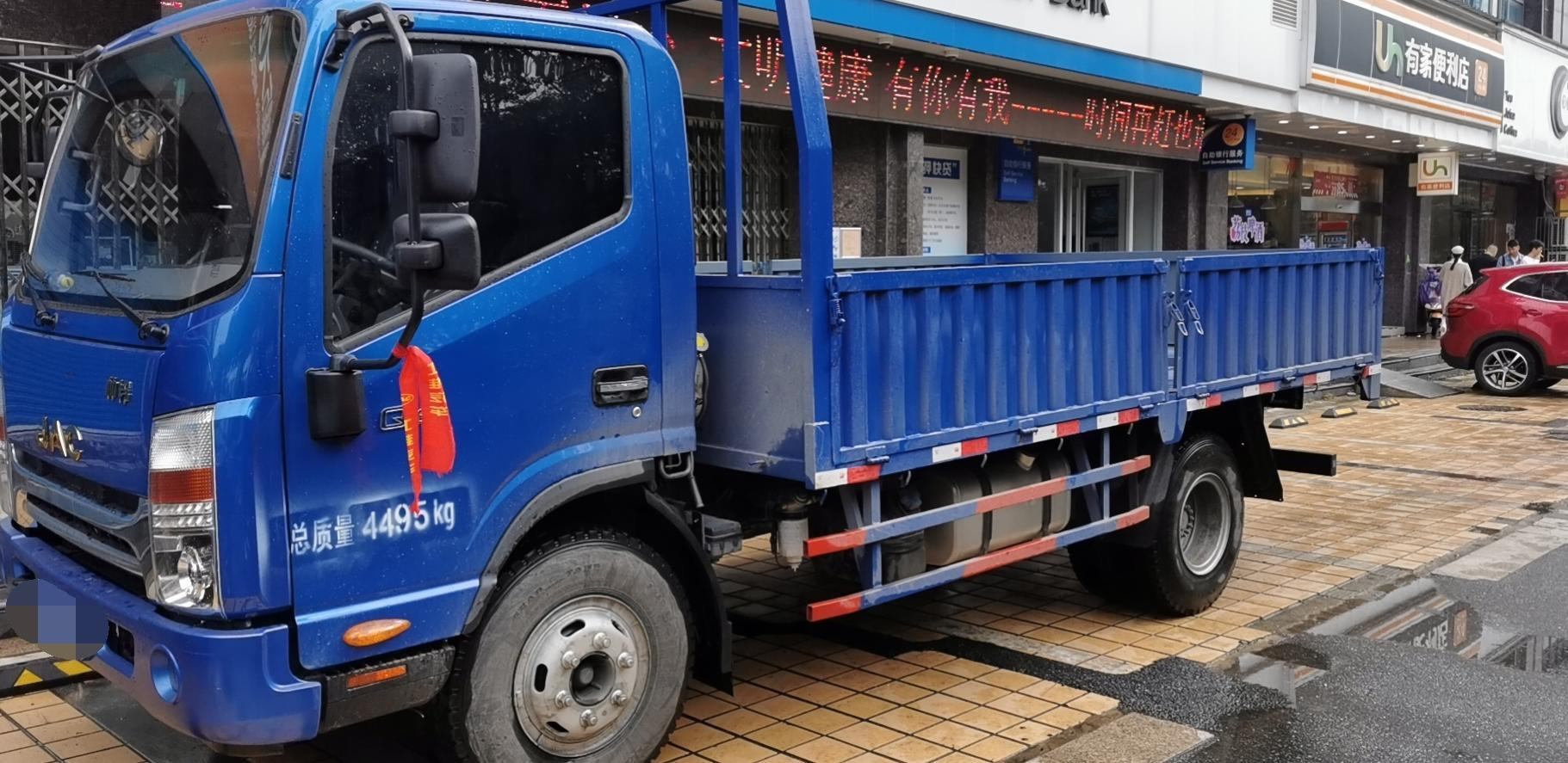 江淮其他车系 载货车  154匹 2020年09月 4x2