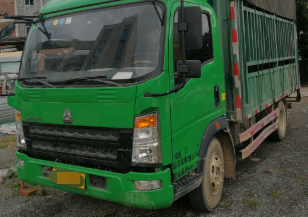 中国重汽HOWO 载货车  96匹 2017年05月 4x2