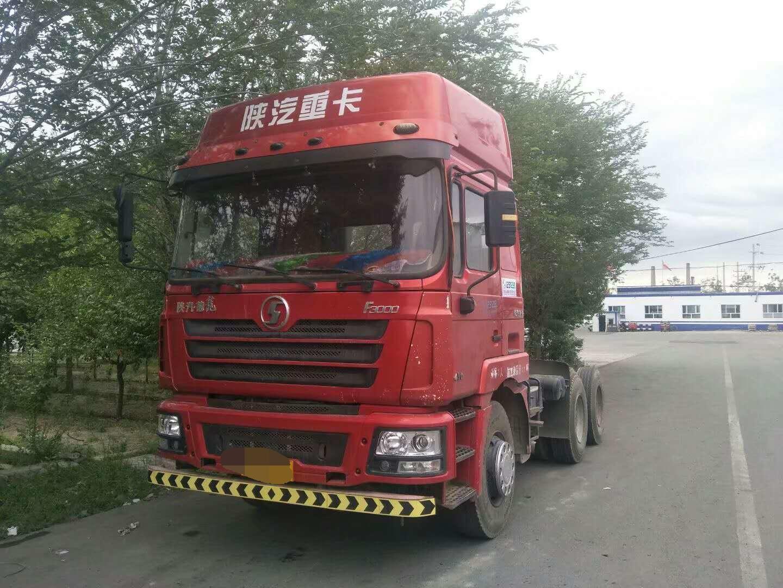 陕汽德龙F3000 牵引车  430匹 2011年08月 6x4