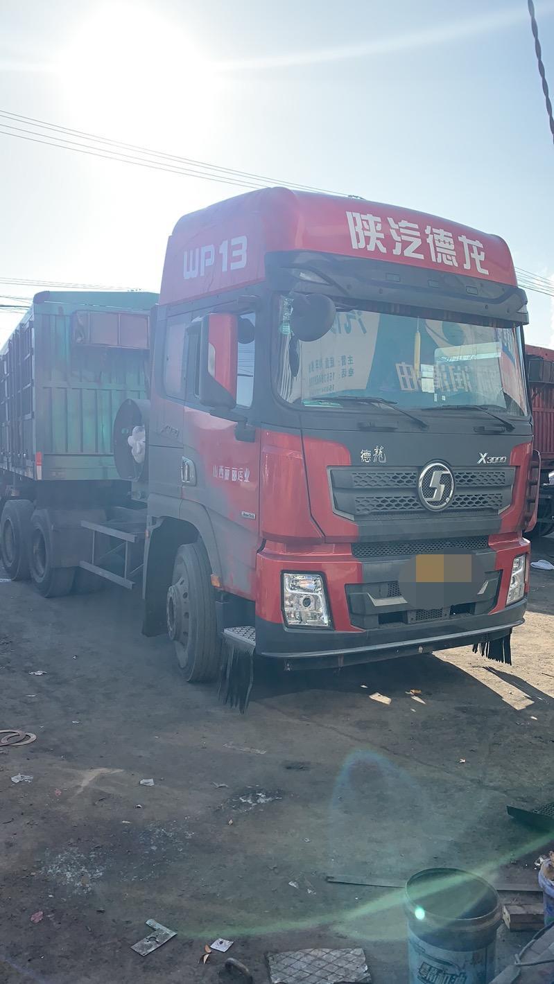 陕汽德龙X3000 牵引车  430匹 2018年11月 6x4