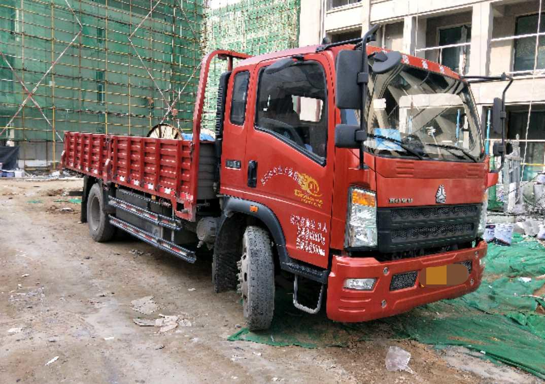 中国重汽HOWO 载货车  154匹 2018年05月 4x2