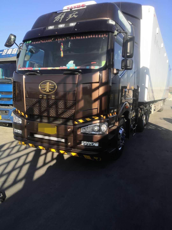 一汽解放J6P重卡 牵引车  550匹 2018年11月 6x4