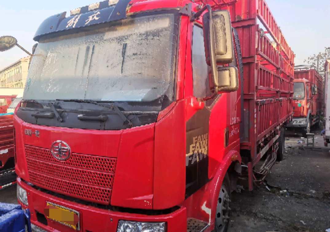 一汽解放J6M重卡 标载型 载货车  170匹 2018年04月 6x4