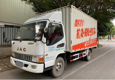 江淮格尔发 载货车  140匹 2015年01月 4x2
