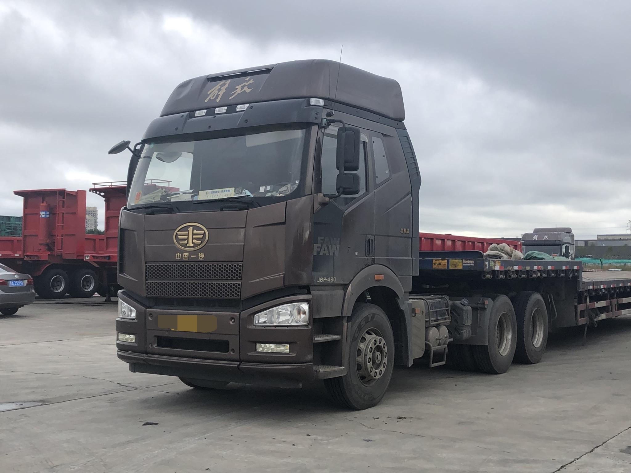 一汽解放J6P重卡 牵引车  550匹 2018年06月 6x4