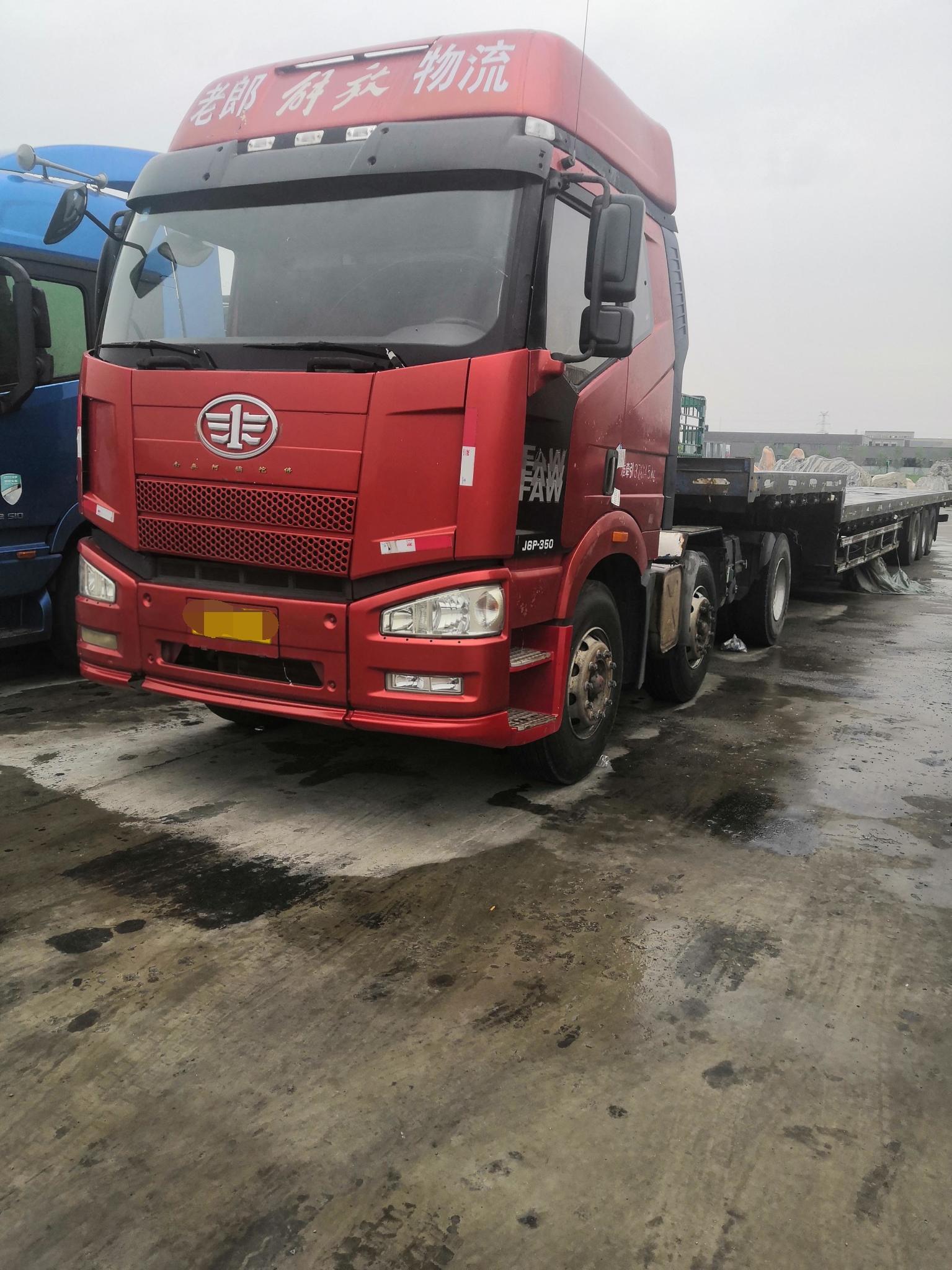 一汽解放J6P重卡 牵引车  460匹 2017年04月 6x4