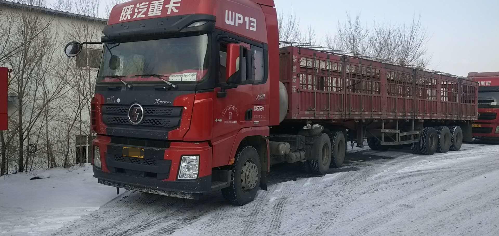陕汽德龙X3000 牵引车  430匹 2018年02月 6x4