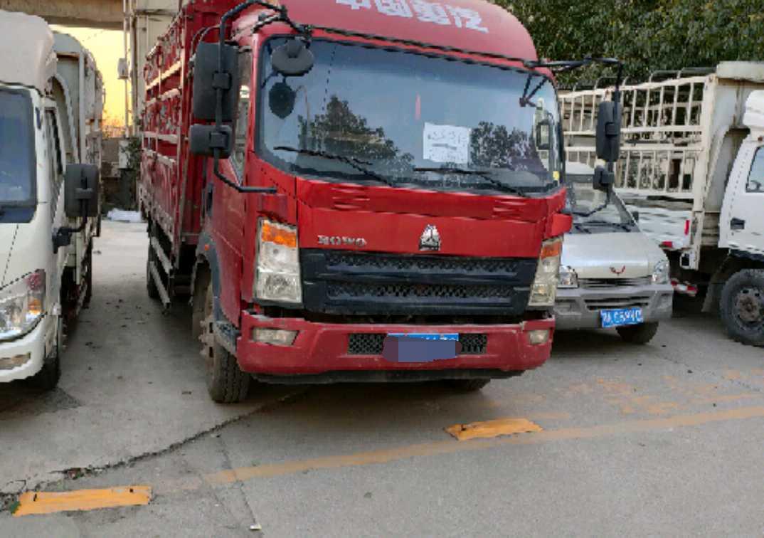 中国重汽悍将 载货车  156匹 2018年01月 4x2